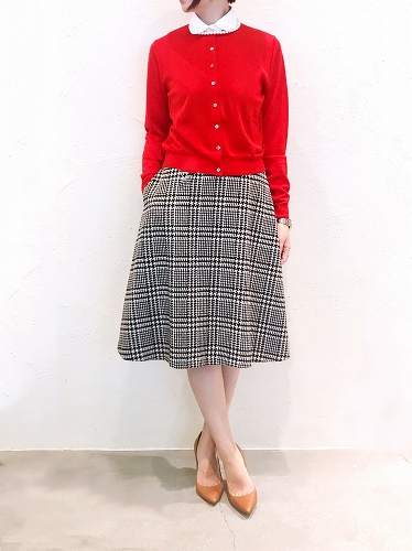 [NEW ARRIVAL] CHECK SKIRT