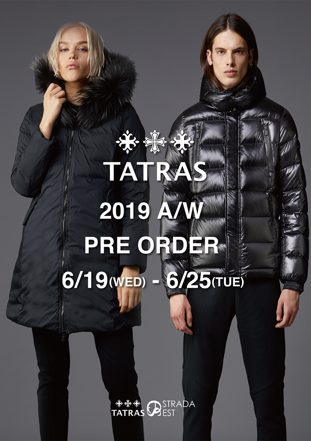 6/19(Wed)~6/25(Tue) 2019 AUTUMN&WINTER COLLECTION ご予約会のご案内